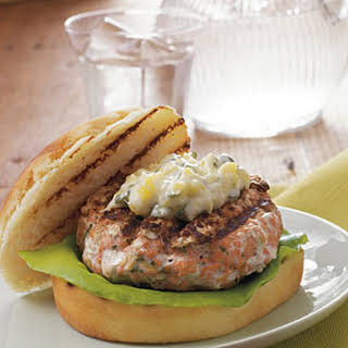 Chipotle Salmon Burgers.