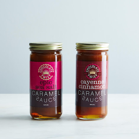Cayenne Cinnamon & Epic Sea Salt Caramel Sauce (2 Jars)