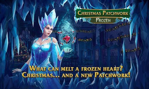 Christmas Mosaics. Frozen