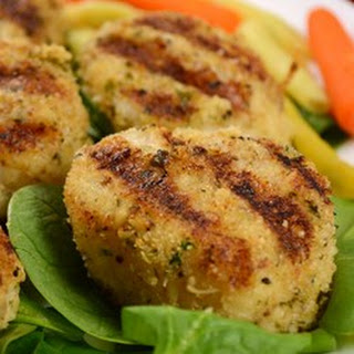 Grilled Garlic Parmesan Crusted Scallops.