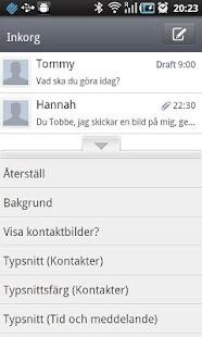 GO SMS Pro Swedish language pa - screenshot thumbnail
