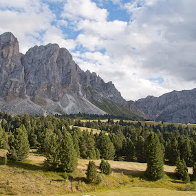 Sass de putia from Erbe Pass by Ricky Papex - Landscapes Mountains & Hills ( sudtirol, view, dolomites, landscape, italy, alps,  )