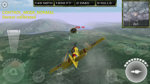 FighterWing 2 Flight Simulator Screenshot