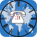 Phone World Clock and Timezone icon