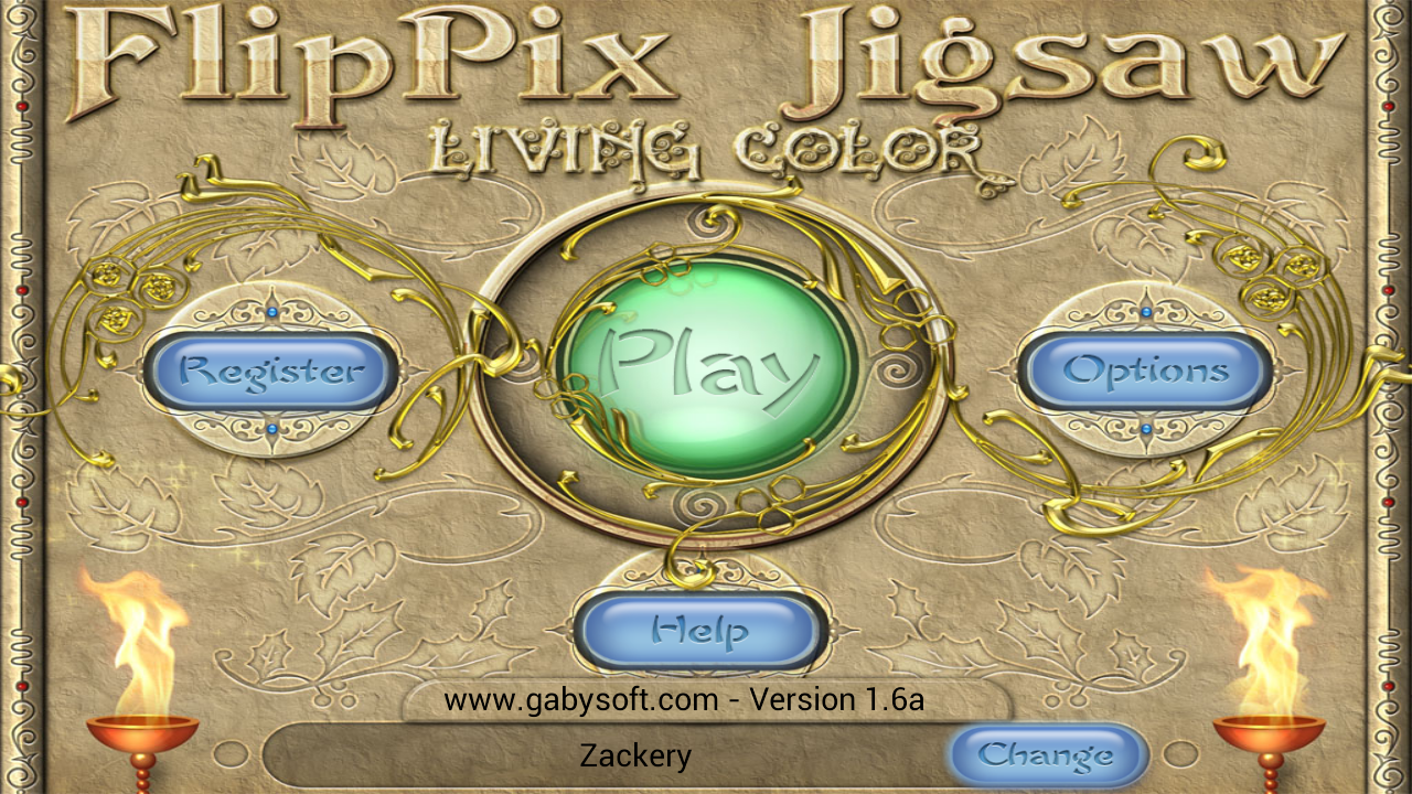 FlipPix Jigsaw - Living Color - screenshot