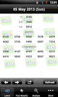 Live Singapore Pools 4D & ToTo Results @ Check4d Mobile