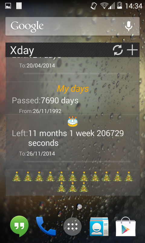 Xday - screenshot