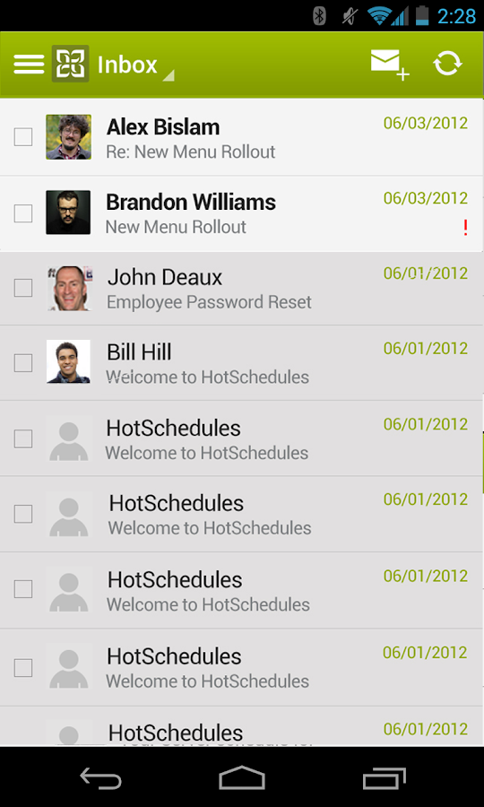HotSchedules - screenshot