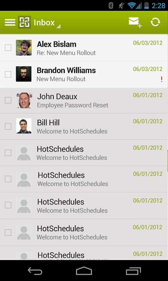 HotSchedules - screenshot