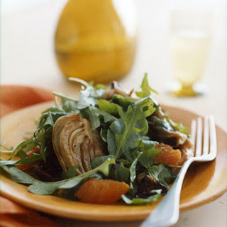 Arugula Salad with Caramelized Endive and Fennel