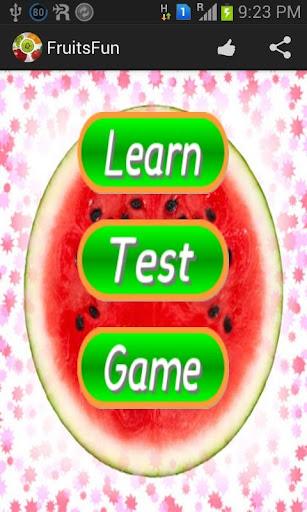 Kids Learn Fruits Memory Game