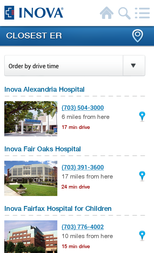 Inova- screenshot