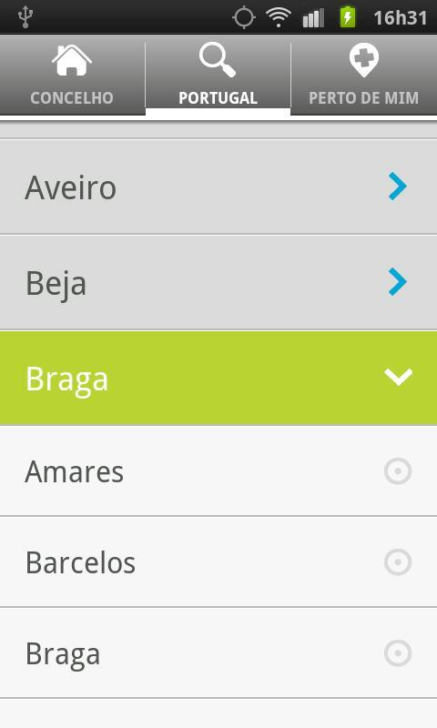 Farmácias de Serviço .net - screenshot