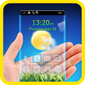 Transparent Screen Launcher HD icon