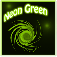 Neon Green Style Go Launcher 1.3