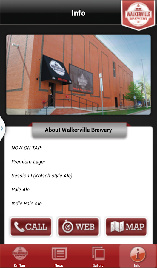 Walkerville Brewery- screenshot