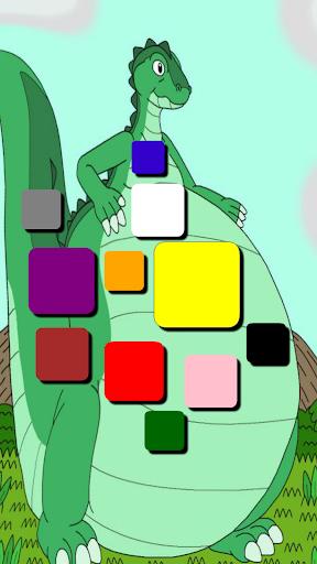 Dinosaurs dinosaur colors