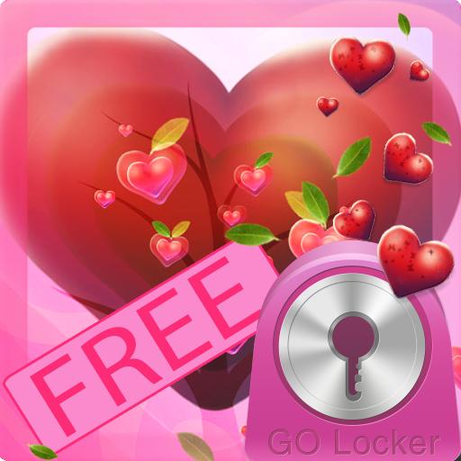 GO锁屏情人节的心 個人化 App LOGO-硬是要APP
