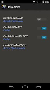 閃光警示來電 短信