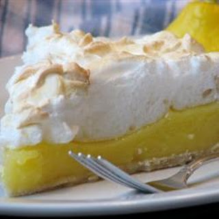 Emilie's Lemon meringue pie.