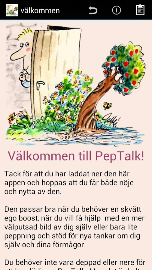 PepTalk - screenshot