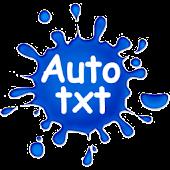 Autotxt