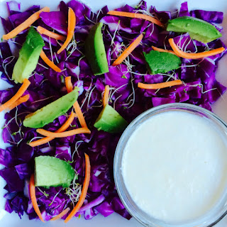 Simple Cabbage Salad with Tangy Sesame Dressing