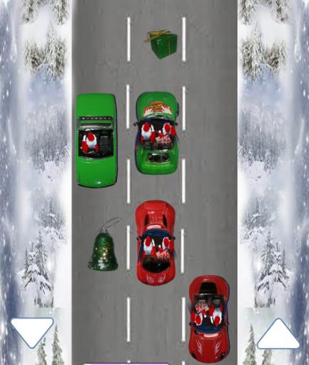 Racing Santa Christmas