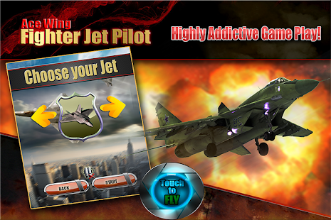 Ace Wing Fighter Jet Pilot - screenshot thumbnail