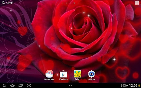 Valentine's Day Live Wallpaper - screenshot thumbnail
