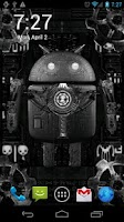 Screenshot of Steampunk Droid Live Wallpaper