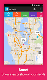 PyngMe GPS Location Sharing - screenshot thumbnail