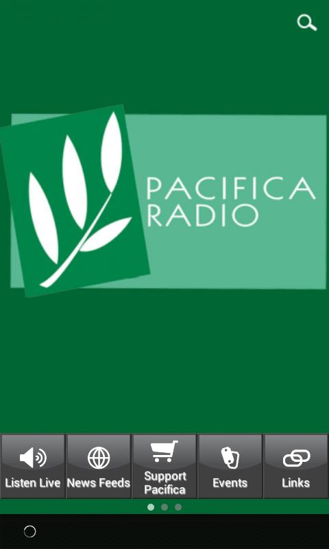 Pacifica Radio- screenshot