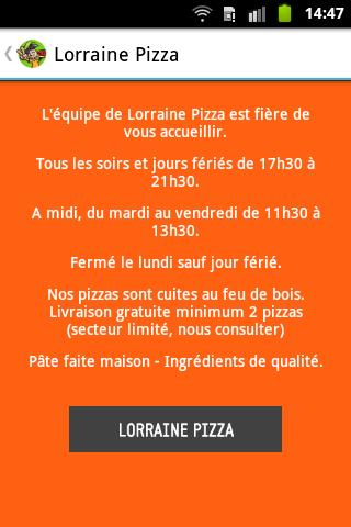 Lorraine Pizza