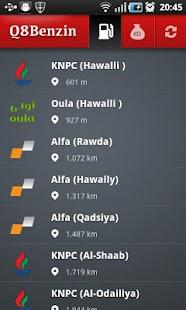 Q8 Benzin- screenshot thumbnail