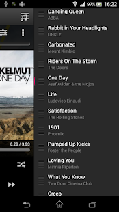 10tracks Cloud Music Player - screenshot thumbnail