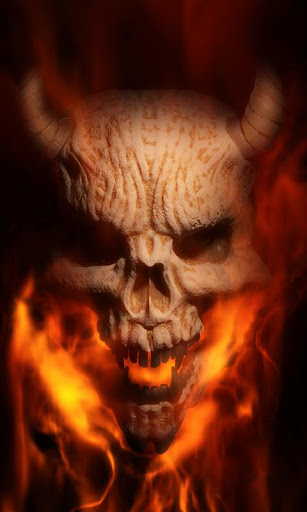 Hellfire Burning Demon