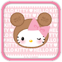 Hello Kitty Pink Biscuit Theme