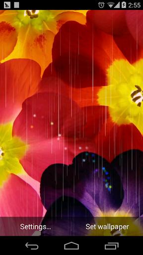 童話夢幻花朵壁纸