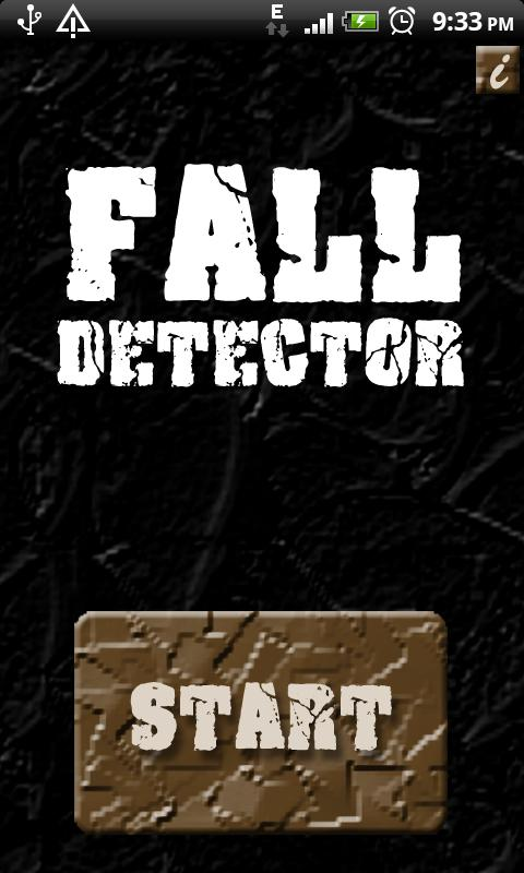 Fall Detector - screenshot