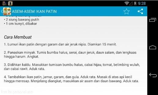 玩免費書籍APP|下載Resep Masakan Sederhana app不用錢|硬是要APP