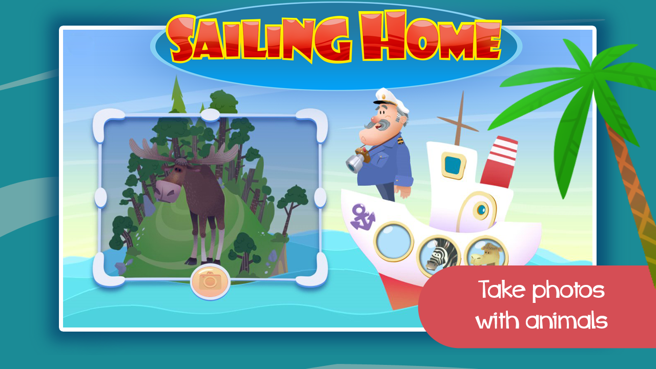 Sailing Home - Animal Habitats- screenshot
