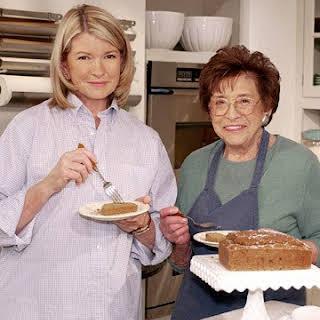 Spice Cake with Mrs. Kostyra.
