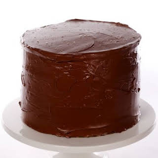 Yellow Butter Cake with Chocolate Frosting.