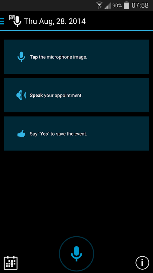Speak Your Appointment (Trial)- screenshot