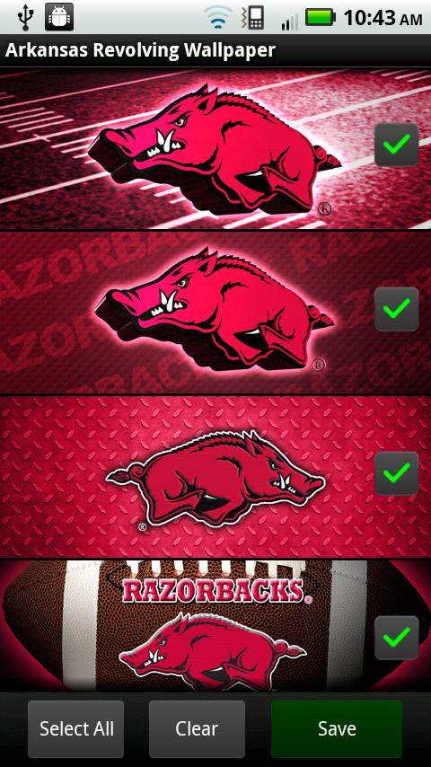 Arkansas Razorbacks Wallpaper- screenshot
