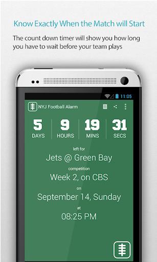 NYJ Football Alarm
