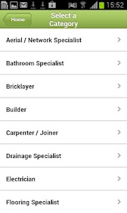 Find a Tradesman - screenshot thumbnail