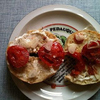 Beautiful Breakfast Bagel