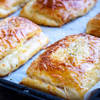 Ham and Cheese Brioche Pockets